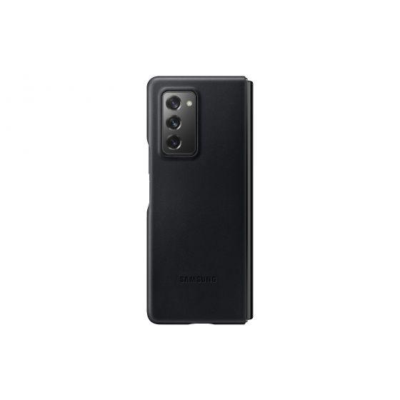 Samsung Galaxy Z Fold2 真皮背蓋 黑色