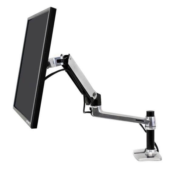 Ergotron LX 桌面顯示器支臂 | 通用 夾桌式 和 穿孔式 ( 45-241-026 )