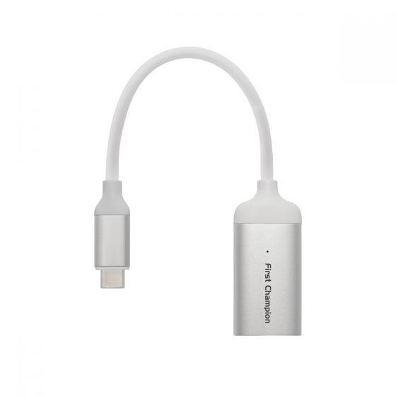 First Champion USB 3.1 Gen 2 Type-C 轉 HDMI 轉接器 - TCA-C3G2HDMI
