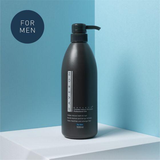 烏髮濃男士特效洗髮水 (500 毫升)