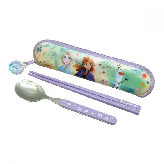 Disney - 魔雪奇緣餐具套裝配PVC袋 FP12108
