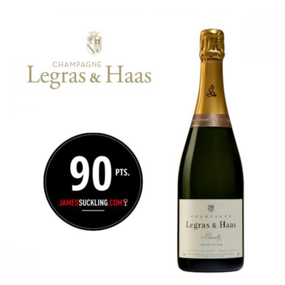 Legras & Haas - Intuition Brut NV (WS 91) 法國香檳 FRLH08-NV