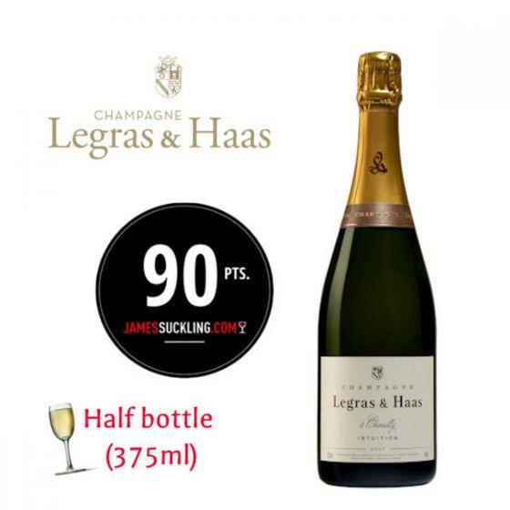 Legras & Haas - Intuition Brut NV (WS 91) (375ml) 法國香檳 FRLH08-NVH