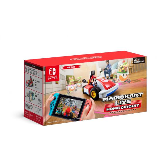 Nintendo 遊戲 - 《瑪利歐賽車實況:家庭賽車場》