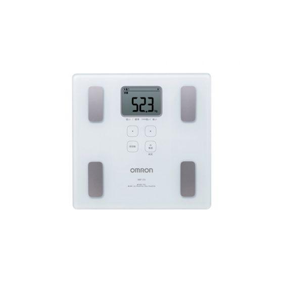 OMRON - HBF-214 體重體脂肪測量器 - 白色【香港行貨】 HBF-214