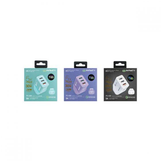 INFINITY PC-30 多插位快充充電插頭 IN-PC30 (3色) INFINITYPC30