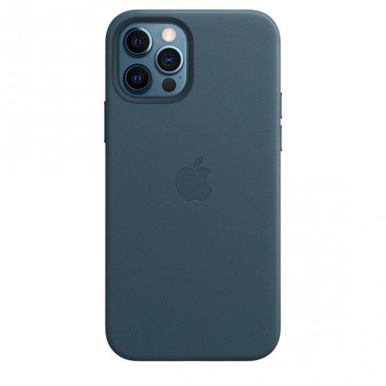 iPhone 12 | 12 Pro MagSafe 皮革護殼 - 波羅的海藍色 MHKE3FE/A