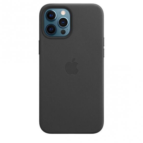 iPhone 12 Pro Max MagSafe 皮革護殼 - 黑色 MHKM3FE/A