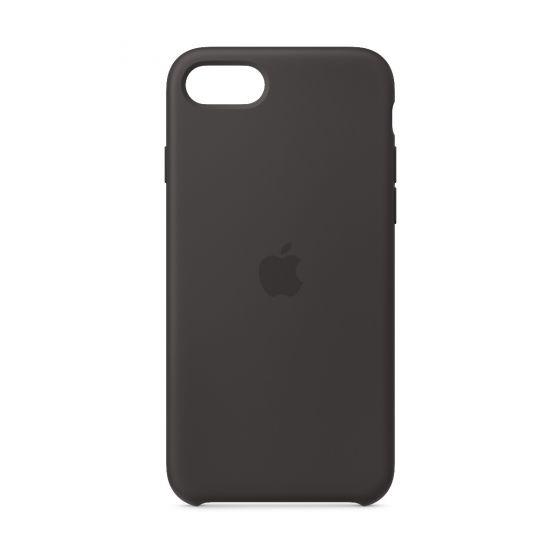 Apple iPhone SE 矽膠護殼 - 黑色