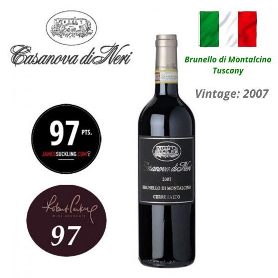 """Casanova Di Neri - Brunello di Montalcino """"Cru Cerretalto"""" DOCG 2007 意大利紅酒 ITCN03-07"""