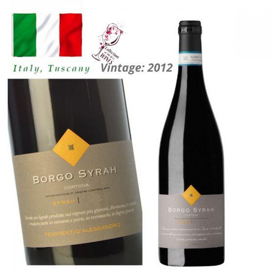 "Tenimenti Luigi D'Alessandro - Cortona Syrah ""Borgo"" DOC 2012 意大利紅酒 ITDA08-12"