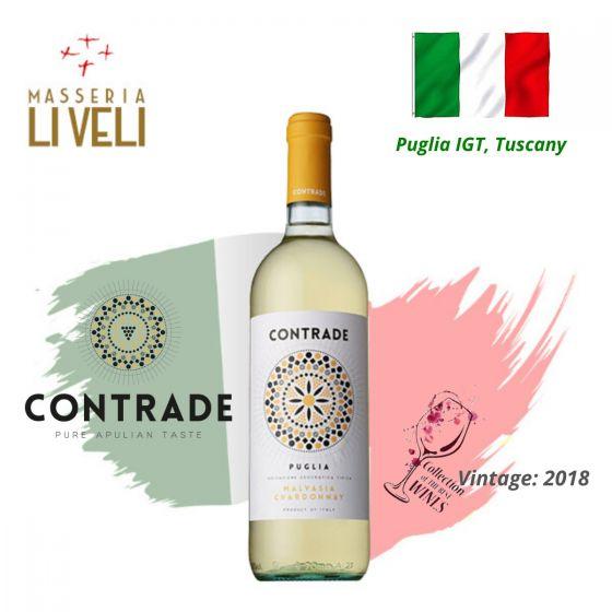 Masseria Li Veli - Contrade Malvasia Bianca IGT 2018 意大利白酒 ITML01-18