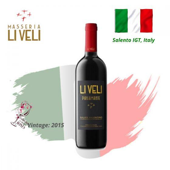 Masseria Li Veli - Passamante DOC 2015 意大利紅酒 ITML04-15