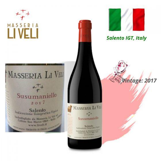 Masseria Li Veli - Askos Susumaniello IGT 2017 意大利紅酒 ITML06-17