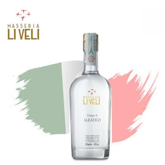Masseria Li Veli - Grappa di Aleatico (500ml) NV 義式白蘭地 ITML11-NV