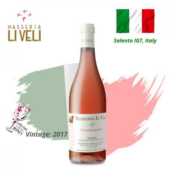 Masseria Li Veli - Askos Susumaniello Rosato 2017 意大利粉紅酒 ITML17-17