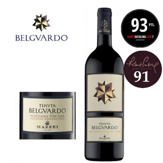 Mazzei - Tenuta Belguardo Maremma 2008 (JS 93) 意大利紅酒 ITMZ01-08