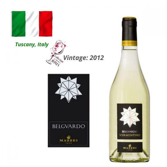 Mazzei - Belguardo Bianco Vermentino IGT 2012 意大利白酒 ITMZ05-12