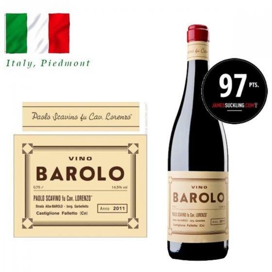 "Paolo Scavino - Barolo ""Novantesimo"" Riserva DOCG 2011 (RP 97) 意大利紅酒 ITPA12-11"