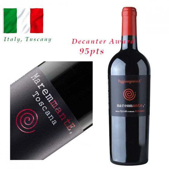 "Poggio Argentiera - ""Maremmante"" 2016 意大利紅酒 ITPO01-16"