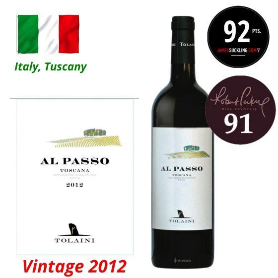 Tolaini - Al Passo Rosso di Toscana IGT 2012 (RP 91) 意大利紅酒 ITTL02-12