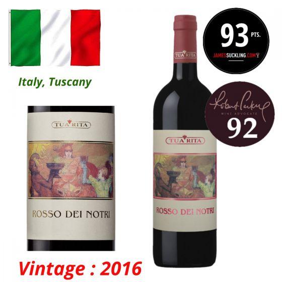 Tua Rita - Rosso dei Notri IGT 2016 (RP 91) 意大利紅酒 ITTR11-16