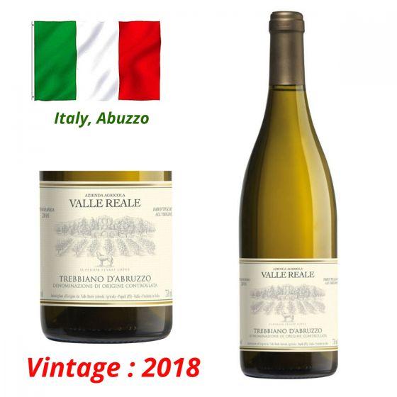 Valle Reale - Trebbiano d'Abruzzo DOC 2018 意大利白酒 ITVR02-18