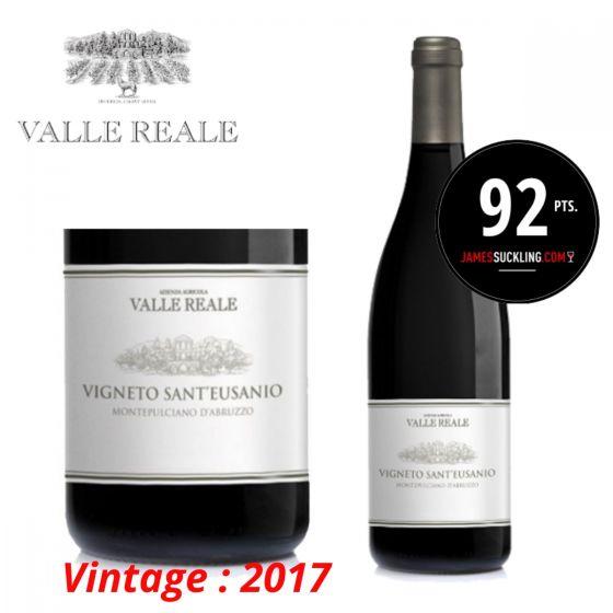 "Valle Reale - Montepulciano d'Abruzzo ""Vigneto Sant'Eusanio"" 2017 意大利紅酒 ITVR03-17"