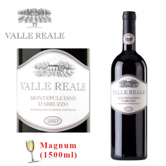 Valle Reale - Montepulciano d'Abruzzo 2007 (1500ml) 意大利紅酒 ITVR04-07M