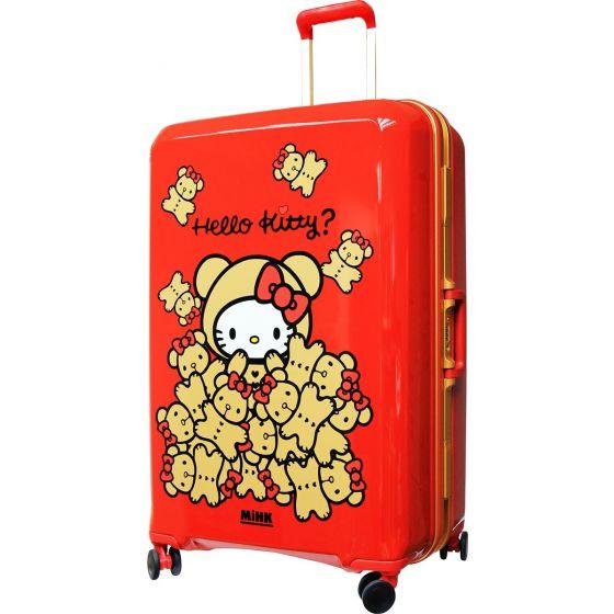 Hello Kitty 29吋金屬鋁框行李箱(紅色) (KT3030FT29RD) KT3030FTRD