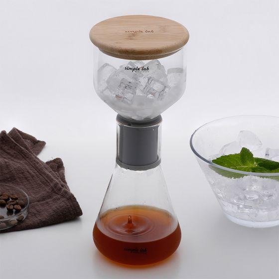 Simple lab experience® MICO-ICE 化學系冰萃咖啡壺套裝 Link0081