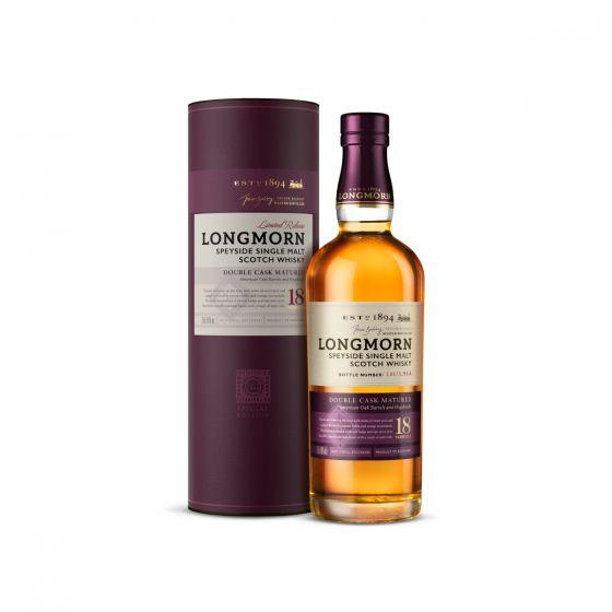 Longmorn - 朗摩 18 年單一麥芽蘇格蘭威士忌 70cl x 1 支  LONGMORN18