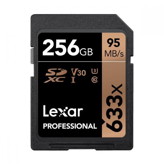 Lexar - Professional 633X SDHC UHS-I 記憶卡 - 256GB LSD256CBAP633