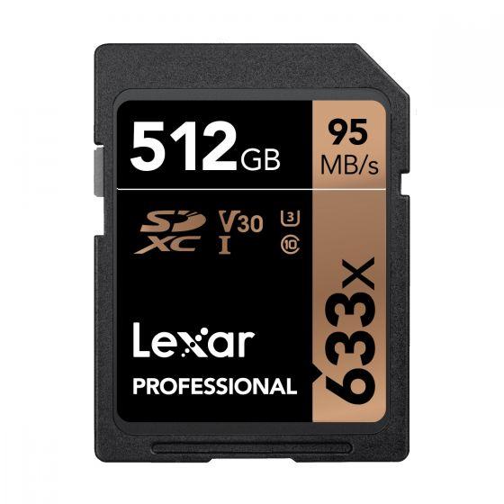 Lexar - Professional 633X SDHC UHS-I 記憶卡 - 512GB LSD512CBAP633