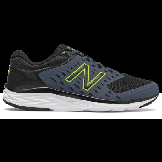 New Balance男裝 M490CB5 跑鞋黑/灰色