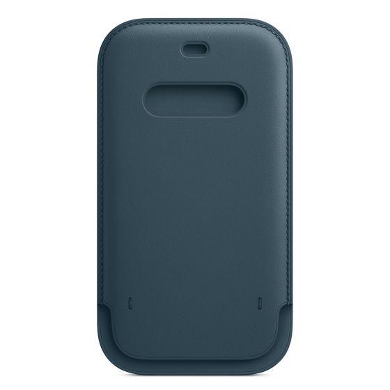 iPhone 12 | 12 Pro MagSafe 皮革保護套 - 波羅的海藍色