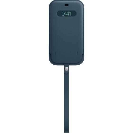 iPhone 12 Pro Max MagSafe 皮革保護套 - 波羅的海藍色