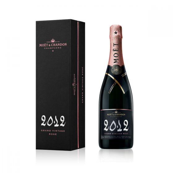 Moet & Chandon - 酩悅年份粉紅香檳 2012 連禮盒 750ml  MOETC_ROSE2012