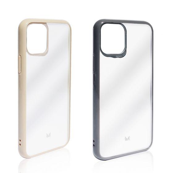 MONOCOZZI - Lucid | 防撞軟膠邊亞加力透明背板手機殼 - iPhone 11 Pro Max (2色) MONO-LU-6519