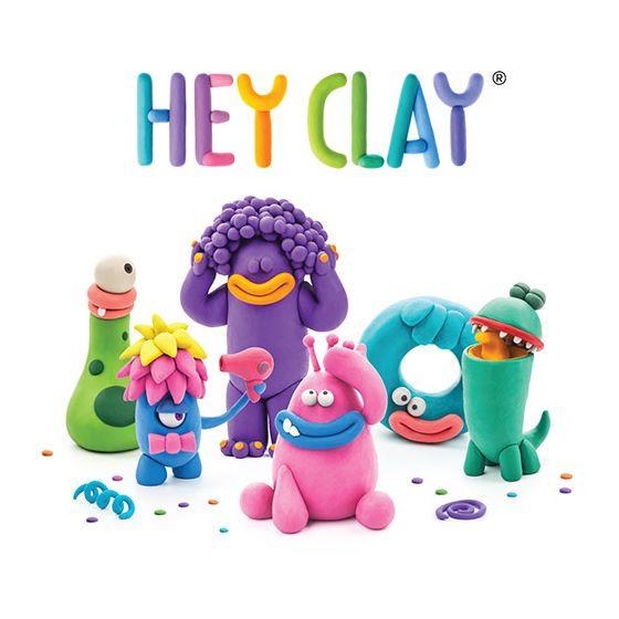 HEY CLAY 粘土創造 CREATE & PLAY  APPS - 怪獸款