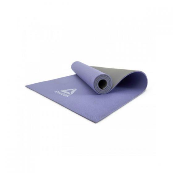Reebok 6mm Double Sided Yoga Mat (Purple/Grey) MOOV-FIT272
