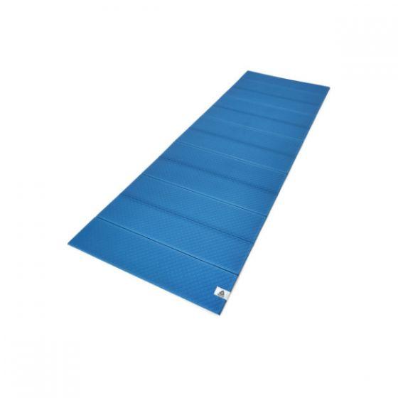 Reebok 6mm Folded Yoga Mat (Blue) MOOV-FIT290