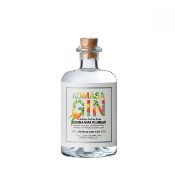 KOMASA - 小正釀造鹿兒島小蜜柑琴酒 500ml x 1 支 (送1724 Tonic Water x 2罐)