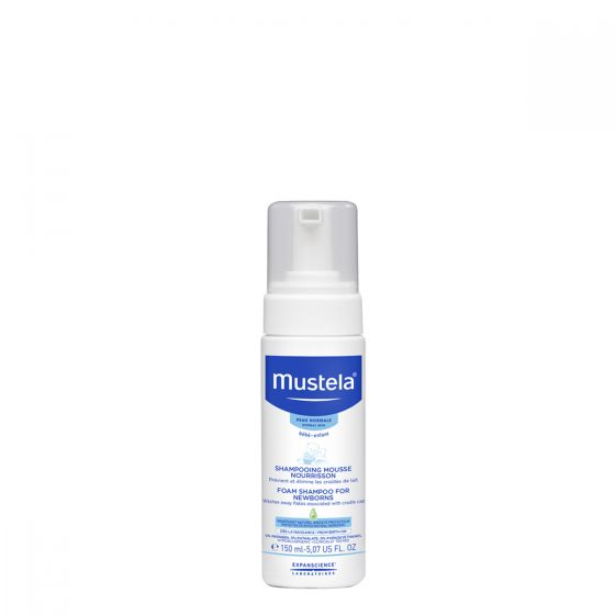 Mustela-初生嬰兒泡沬洗頭水 (150ml) Mustela_8602