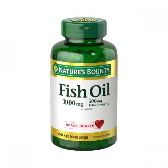 Nature's Bounty自然之寶 - 天然魚油1000毫克 NB50998
