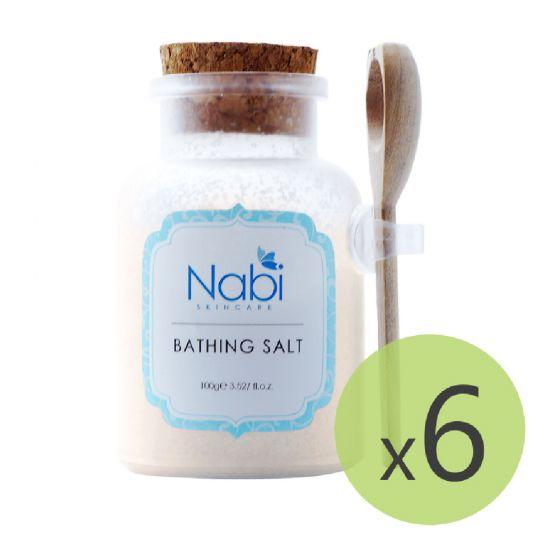 Nabi - 橘子舒緩浴鹽(6件裝)