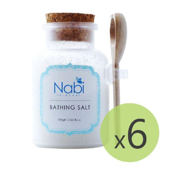 Nabi - 牛奶舒緩浴鹽(6件裝)