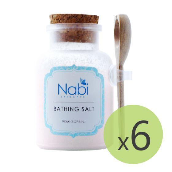 Nabi - 草莓舒緩浴鹽(6件裝)