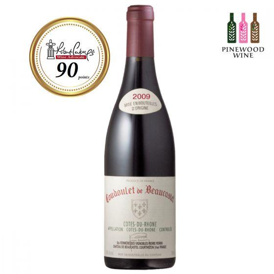Chateau de Beaucastel  2009, RP 90 Coudoulet de Beaucastel 紅酒
