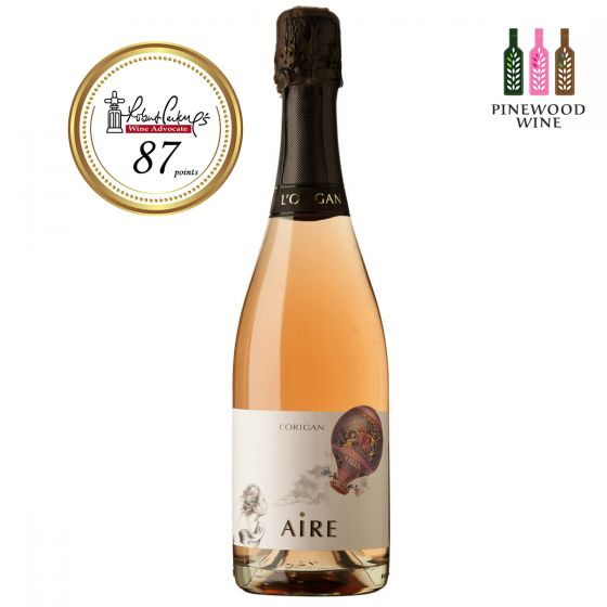 AIRE Rosé brut nature 2014, RP 87 玫瑰氣泡酒